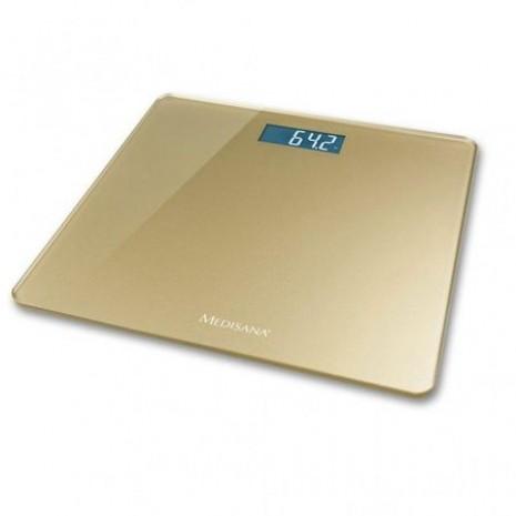 Cantar corporal Medisana PS420 40459, Ecran LCD , 150kg, Oprire automata, Gold