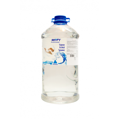 Sapun lichid spuma Mopy, 5 litri