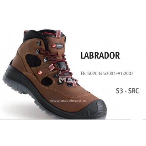 Bocanci de protectie LABRADOR S3 SRC MABO INVEST