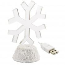 Lampa de veghe LED Fulg de nea cu USB Germag