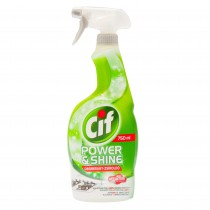 Spray degresant pentru bucatarie Cif Power&Shine, 750 ml, Verde Germag