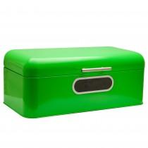 Cutie metalica pentru paine Brotbox, 42,5 x 23 x 16,5 cm, Verde Germag