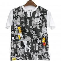 Tricou alb pentru copii, The Simpsons Germag