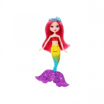 Papusa Barbie Dreamtopia Sirena Mini Rainbow