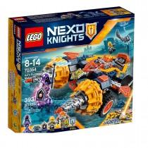 LEGO NEXO KNIGHTS Axl's Rumble Maker - Bubuitorul lui Axl (70354)