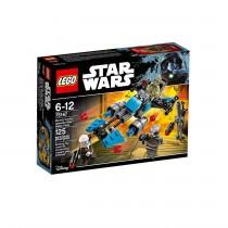 LEGO Star Wars Motocicleta De Viteza Bounty Hunter (75167)
