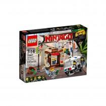 LEGO NINJAGO Urmarirea din orasul NINJAGO 70607