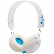 Casti PC Perplex cu microfon, 2 X 3.5 mm, 105 dB, 2.5 cm, albe Germag