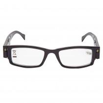 Ochelari de vedere 0 dioptrii cu LED-uri Max View, rama neagra, 48020BLK Germag