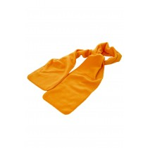 Fular fleece portocaliu din poliester, 175cm Germag