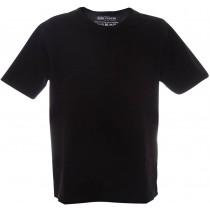 Tricou casual la baza gatului, simplu, negru, pentru baieti, 1374BLK134/140 Germag