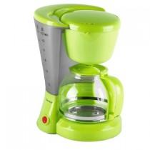Cafetiera DomoClip DOM163BV, 800 W, Cana de 1.2l, filtru reutilizabil, Verde