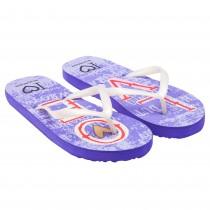 Papuci de vara Maluella Rucanor, imprimeu LOVE, Violet, pentru fete, 76037PW28 Germag