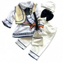 Costumas traditional pentru botez, baietel
