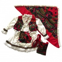 Costumas traditional romanesc botez fetita