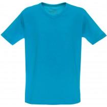 Tricou casual la baza gatului, simplu, turcoaz, pentru baieti Germag