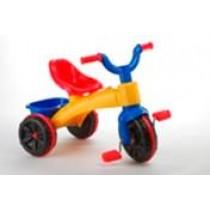 Tricicleta plastic Super Enduro, multicolora
