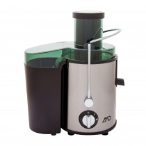Storcator de fructe MD MJ-6011, 600 W, Recipient suc 500 ml, Recipient pulpa 1.4 L, 2 Viteze, Inox, Negru, 80027 Germag