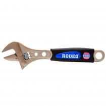 Cheie reglabila Rodeo, 200 X 30 mm, otel, maner cauciucat, 50083 Germag