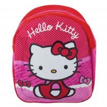 Ghiozdan roz/rosu Hello Kitty, 21097PK Germag