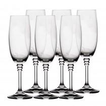 Set pahare sampanie cristal Olivia, 6x190 ml, 85817 Germag