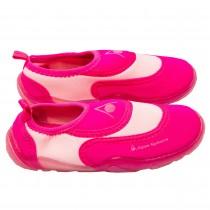 Incaltaminte de plaja si apa Aqua Sphere, talpa flexibila din cauciuc, material tip neopren, roz, pentru fetite Germag
