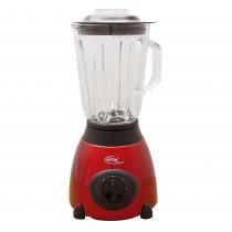 Blender din otel inoxidabil MX-600 Elta, 500 W, Cana sticla 1,5 L, 2 Viteze, Functie Puls, Visiniu/Negru Germag