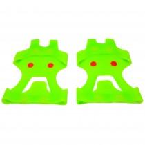 Protectii antialunecare pentru pantofi, GmbH, marimea 42-48, verde, unisex Germag
