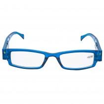 Ochelari de vedere 0 dioptrii cu LED-uri Max View, rama albastra, 48020BL Germag