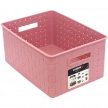 Cutie din plastic pentru depozitare, Allibert, roz Germag