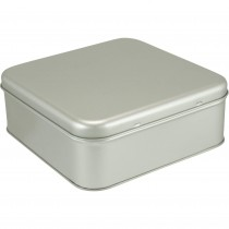 Cutie patrata din metal cu capac 17*6.5cm pentru biscuiti/bomboane, Germag Germag