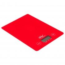 Cantar digital de bucatarie Elta, 5 kg, 19.5 X 14 cm, 1 X baterie AAA 1.5 V, rosu Germag