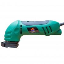 Slefuitor electric in triunghi Top Craft, 280 W, 230 V / 50 Hz, 1,2 Kg, verde, 59788 Germag