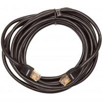 Cablu de retea Edeka, cat. 6, UTP, dublu ecranat, 2 X mufe RJ-45, 4 metri, 250 MHz, negru Germag