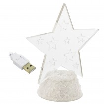 Lampa de veghe LED Steluta cu USB Germag
