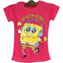 Tricou roz Sponge Bob, pentru fetite Germag