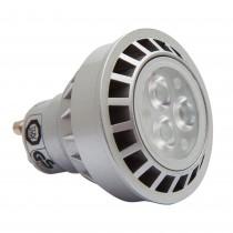 Bec LED Sigalux de 250 lumeni, spot, GU10, 5W, 25.000 ore, lumina alba calda, 16081 Germag