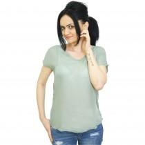 Bluza verde casual fara maneci Costes, de dama Germag