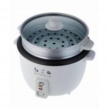 Aparat pentru gatit orez si legume MD MMC-9703, 1000W, vas 2.8L detasabil, functie mentinere la cald, alb Germag