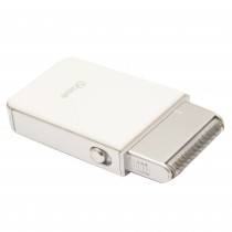 Aparat de ras cu baterii iShave RSM 1800 PRC, 2 W, Lavabil, Alb Germag