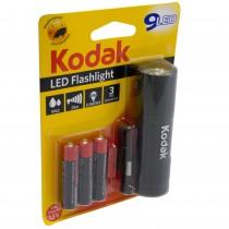 Lanterna cu 9 LED-uri Kodak, 3 baterii AAA incluse, 1.5 V, neagra, 12444BLK Germag