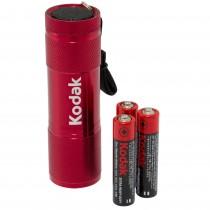 Lanterna cu 9 LED-uri Kodak, 3 baterii AAA incluse, 1.5 V, rosie, 12468RD Germag