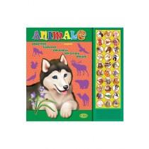 Carte cu sunete - ANIMALE domestice, salbatice, din jungla, din savana, polare (romana+engleza)