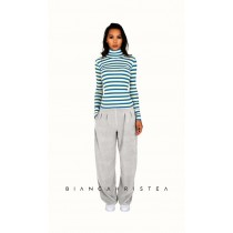 Pantalon larg Bianca Hristea cu detalii M