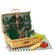 Cos picnic pentru 4 persoane Green Park ALEXER SRL