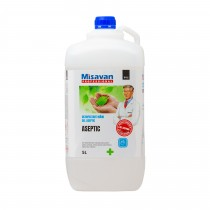 Gel dezinfectant pentru maini Aseptic Dr. Stephan 5 litri - Avizat de Ministerul Sanatatii