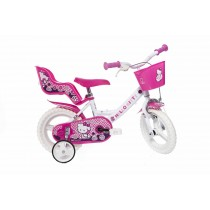 Bicicleta copii 12'' Hello Kitty Ralu Bouquet