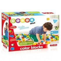 Cuburi colorate de construit - 85 piese Ralu Bouquet