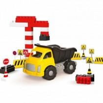 Camion si cuburi de construit - 40 piese Ralu Bouquet