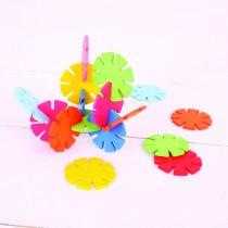 Set discuri colorate pentru construit Ralu Bouquet